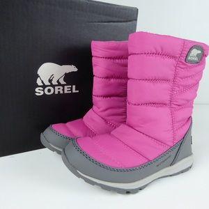 Sorel Whitney Mid Waterproof Kids Winter Boots NIB